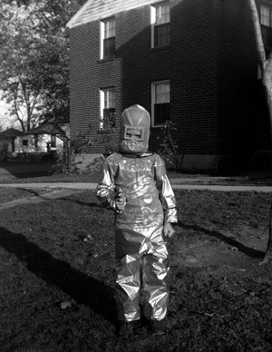 Child In A Spacesuit, 1953